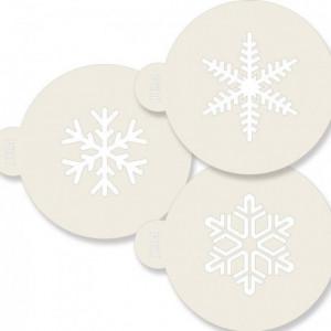 JEM Stencil Snowflakes pk/3
