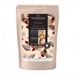 Dark chocolate drops 52% Valrhona 250 g