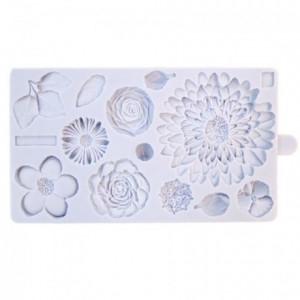 Karen Davies Silicone Mould - Buttercream Flowers