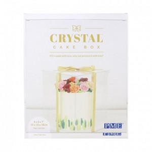Boîte à gâteau Crystal PME 15 x 15 x 18 cm