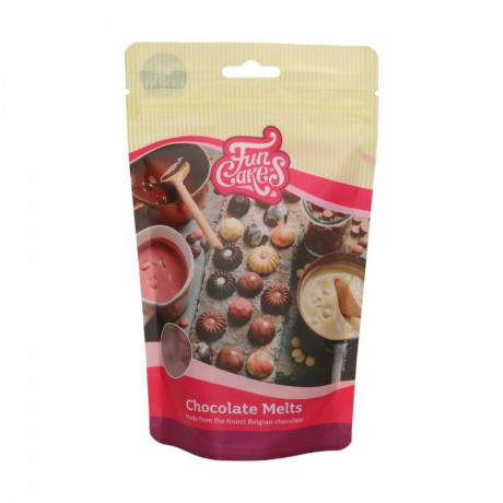 FunCakes Chocolate Melts Ruby 250 g