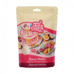 FunCakes Deco Melts -Natural White- No E171 -250g