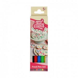 FunCakes Food Pen Primary Set/5
