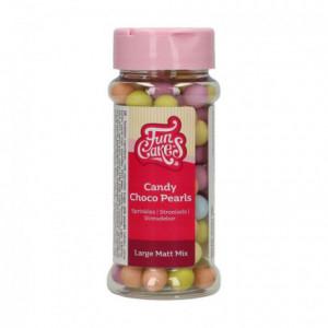FunCakes Candy Choco Pearls Large Matt Mix 70 g