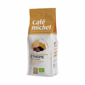 Organic ground coffee Ethiopia Sidamo 250 g