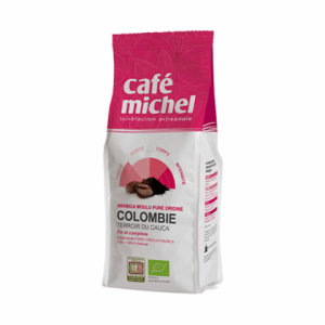 Organic ground coffee Colombia 250 g