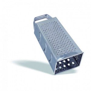 4-sided stainless steel grater - MF