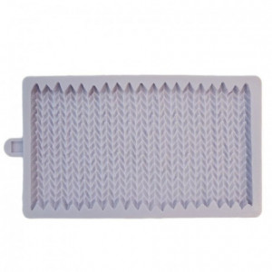 Karen Davies Silicone Mould - Chunky Knit