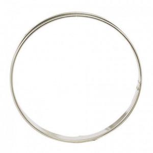 Cercle à tarte en inox Ø 300 mm H 27 mm