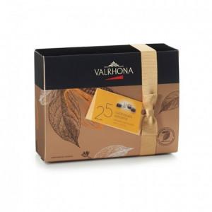 Ballotin de 25 chocolats fins assortis 230 g