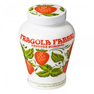Strawberries opaline jar Fabbri 600 g
