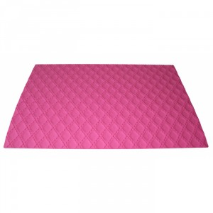 Matelasse decorative silicone mat