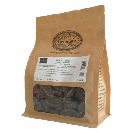 Abinao 85% dark chocolate Blended Origins Grand Cru beans 500 g