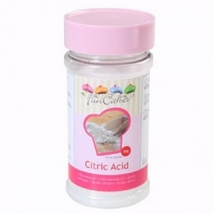 Acide citrique FunCakes 80 g