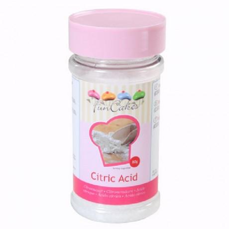 Acide citrique FunCakes 80 g