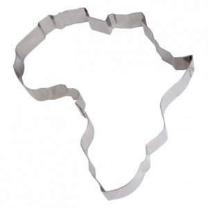 Africa stainless steel H45 mm 490x410 mm (2 parts)