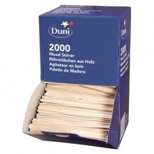 Agitateur bois en boite distributrice (lot de 2000)