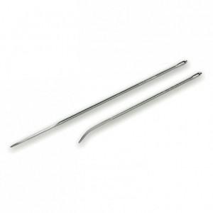 Aiguille à brider courbée inox L 150 mm