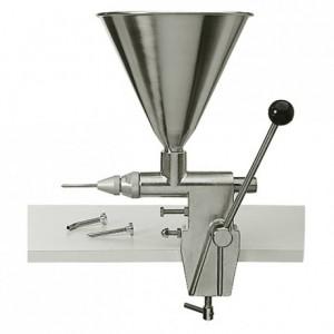 Aiguille inox Ø 8 pour machine à injecter la crème petit modèle
