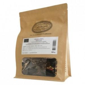 Alpaco 66% chocolat noir de couverture pur Equateur fèves 500 g