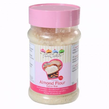 Amande poudre spéciale macaron FunCakes 125 g