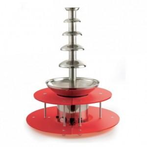 Anneau rouge pour fontaine à chocolat Pro 80