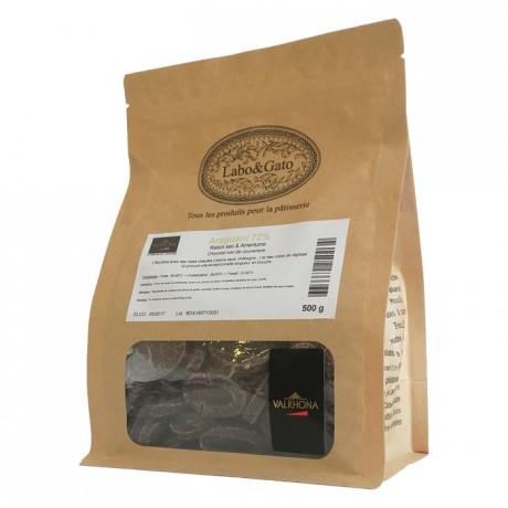 Araguani 72% chocolat noir de couverture pur Venezuela fèves 500 g