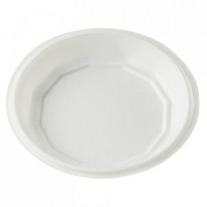 Assiette ronde creuse blanche Ø 130 mm (lot de 250)