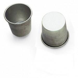 Baba rond ou dariole fer blanc Ø60 mm (lot de 12)