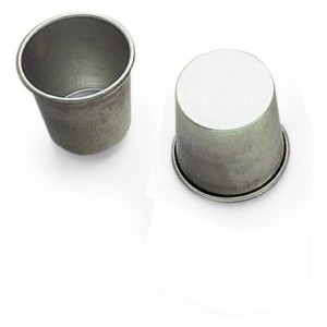 Rum baba mould tin Ø60 mm (pack of 12)