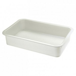 Rectangular dough container 20 L