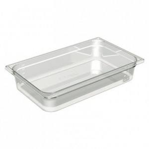 Gastronorm container Cristal + GN 1/1 530 x 325 x 100 mm