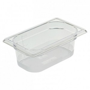 Gastronorm container Cristal + GN 1/4 265 x 162 x 100 mm