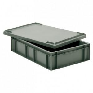 Bac gerbable plein gris Allibert 28 L 600 x 400 x 150 mm