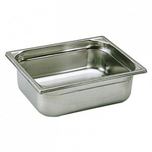 Container without handle stainless steel GN 1/2 H 150 mm