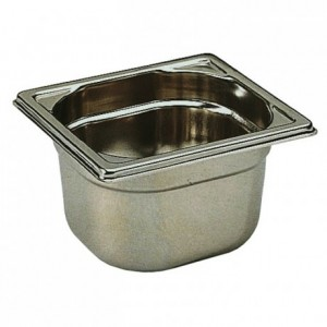 Container without handle stainless steel GN 1/6 H 150 mm