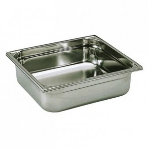 Container without handle stainless steel GN 2/3 H 100 mm