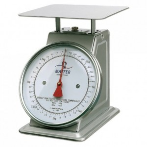 Mechanical scale stainless steel 30 kg