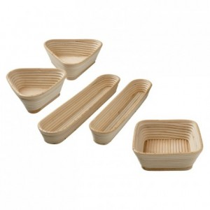 Long country bread basket 410 x 100 x 58 mm