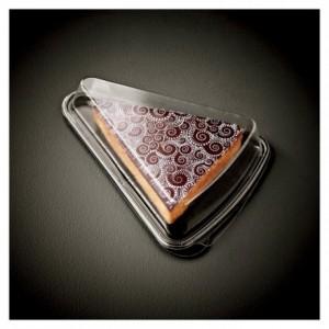 Barquette + couvercle part de tarte (lot de 420)