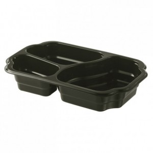 2 compartments take away container 700 + 400 mL (246 pcs)