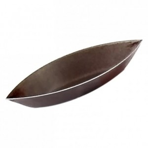 Boat-shaped plain mould non-stick 90x40 mm (pack of 12)