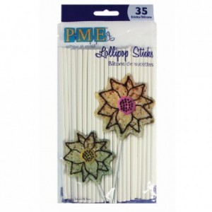 PME Lollipop Sticks 16cm pk/35