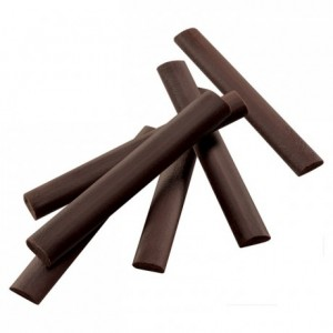 Dark chocolate sticks 55% for chocolatines 5,3 g x 300 pieces
