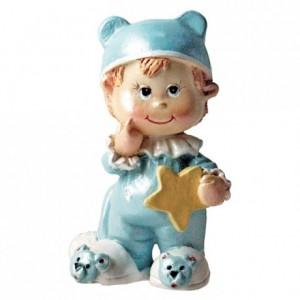 Bébé garçon lutin bleu (lot de 12)