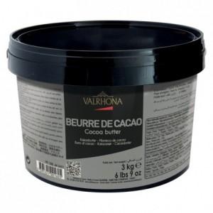 Beurre de cacao 3 kg
