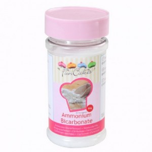 Bicarbonate d'ammonium FunCakes 80 g