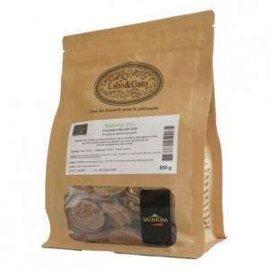 Biskélia 34% milk chocolate Gourmet Creation beans 500 g