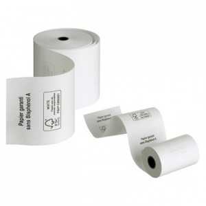 Roll thermic paper Credit card (50 pcs)