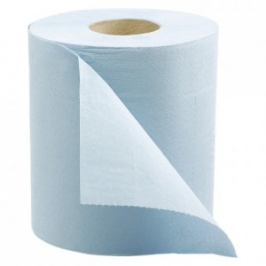 Roll of blue cellulose wadding (6 pcs)